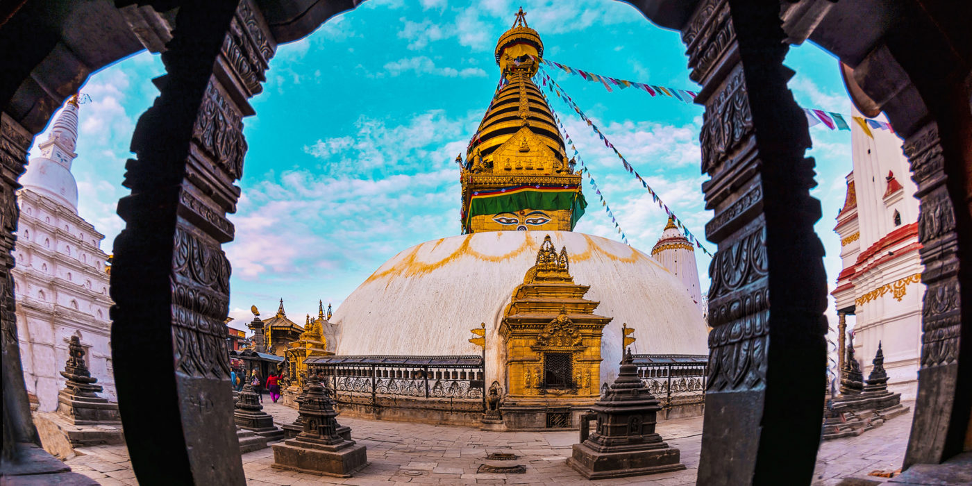 Architecture Asia The Largest Buddha Buddhism Nepal